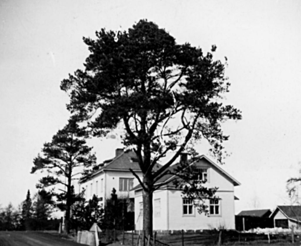 Otto Oikurin talo, takana Säästöpankki.