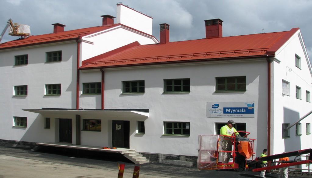 Vuonna 1945 valmistunut, alkuperäisestä käytöstä pois jäänyt myllyrakennus korjattiin ulkoisilta osiltaan 2013-14. Jonkin verran tehtiin uudistuksia myös sisätiloissa, lähinnä myymälän tarpeisiin.